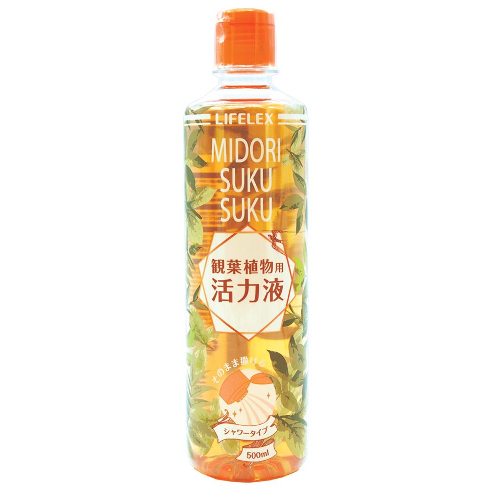 コーナンオリジナル 緑スクスク活力液 観葉植物用 500ml