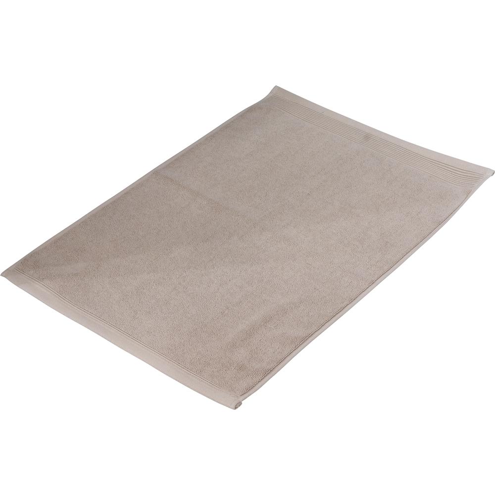 タオルバスマット ベージュ 約40×60cm