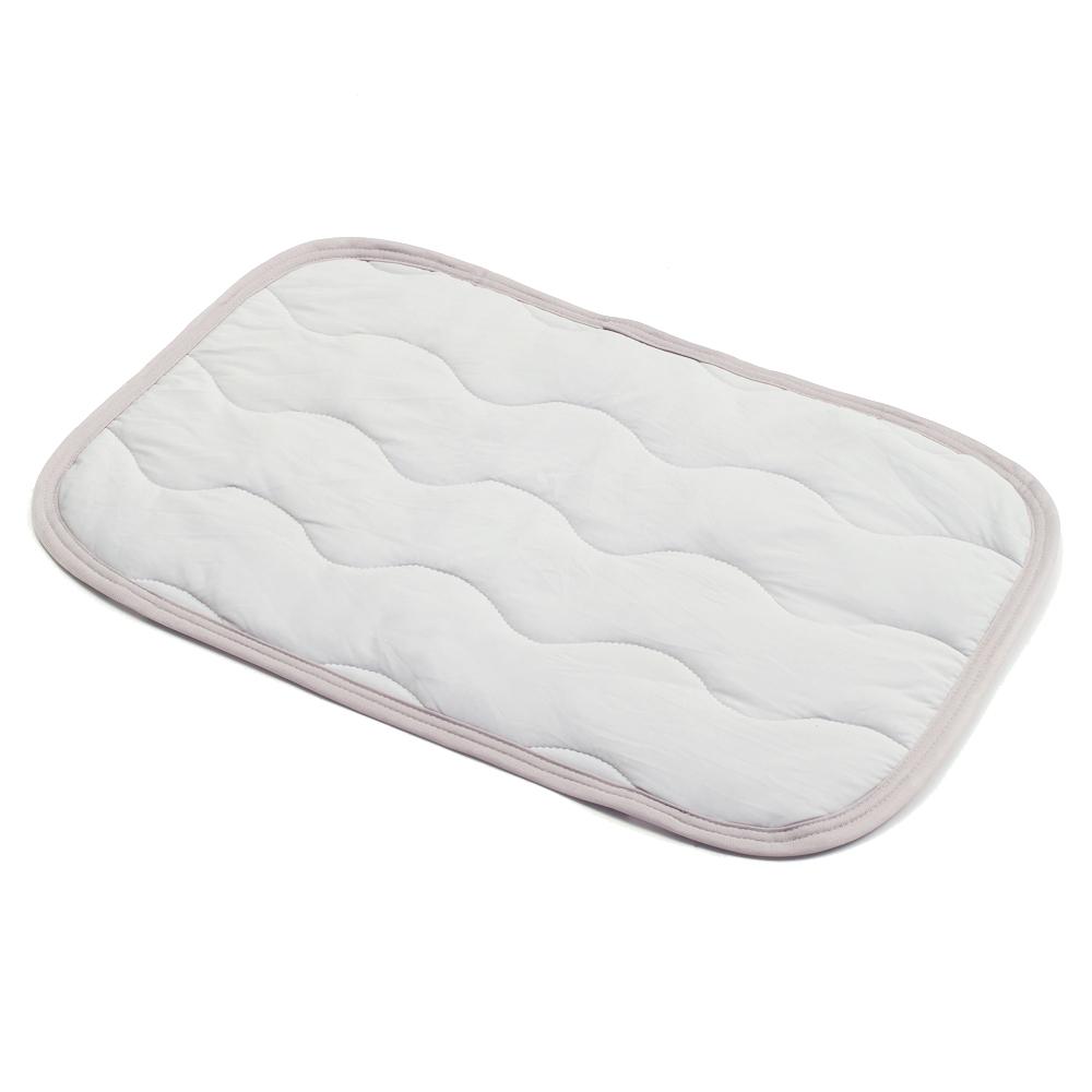 ひんやり枕パッド 約43×63cm グレー
