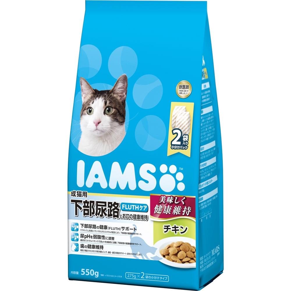 アイムス 成猫用 下部尿路とお口の健康維持 チキン 550g
