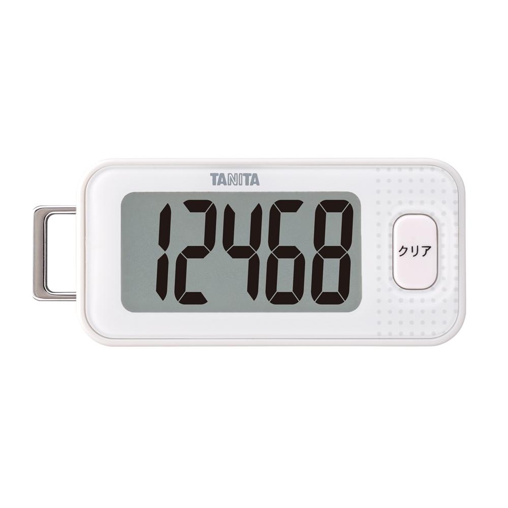 タニタ 3Dセンサー歩数計 FB−740 ホワイト