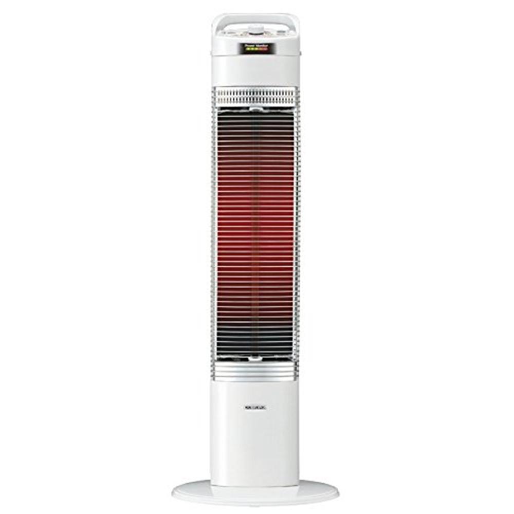 コロナ 遠赤外線電気ストーブ 「コアヒートスリム」 省エネ ecoモード搭載 ホワイト DH-915R(W) ※旧モデル未使用品(新品)