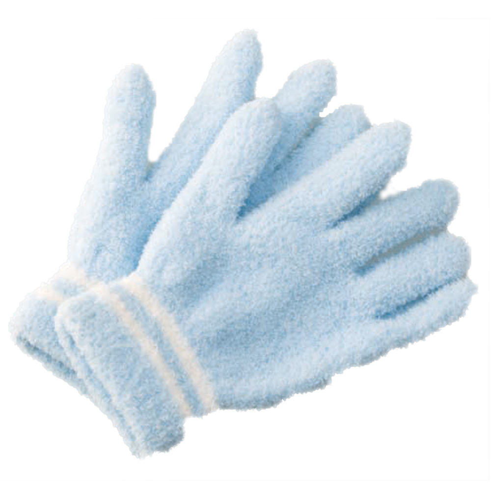 お掃除手袋ブルー