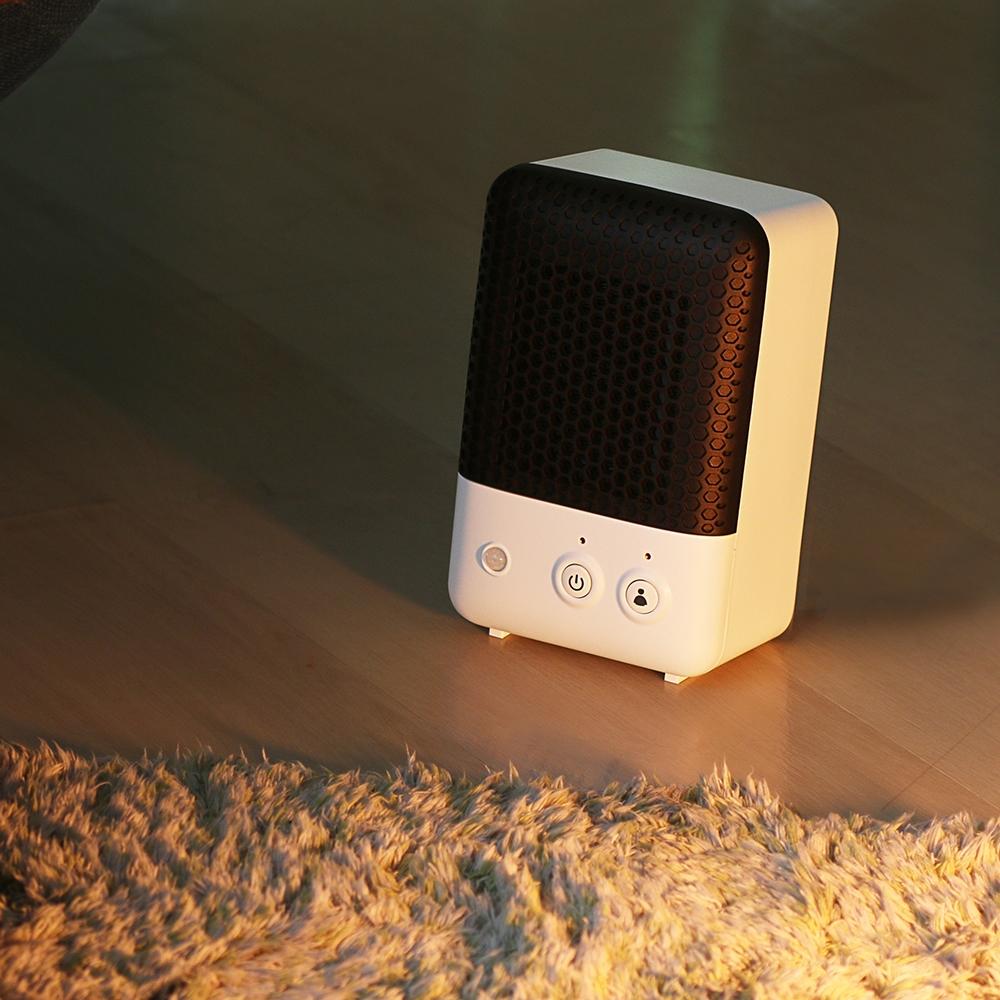 PRISMATE 人感センサー付セラミックヒーター PR−WA001 ホワイト