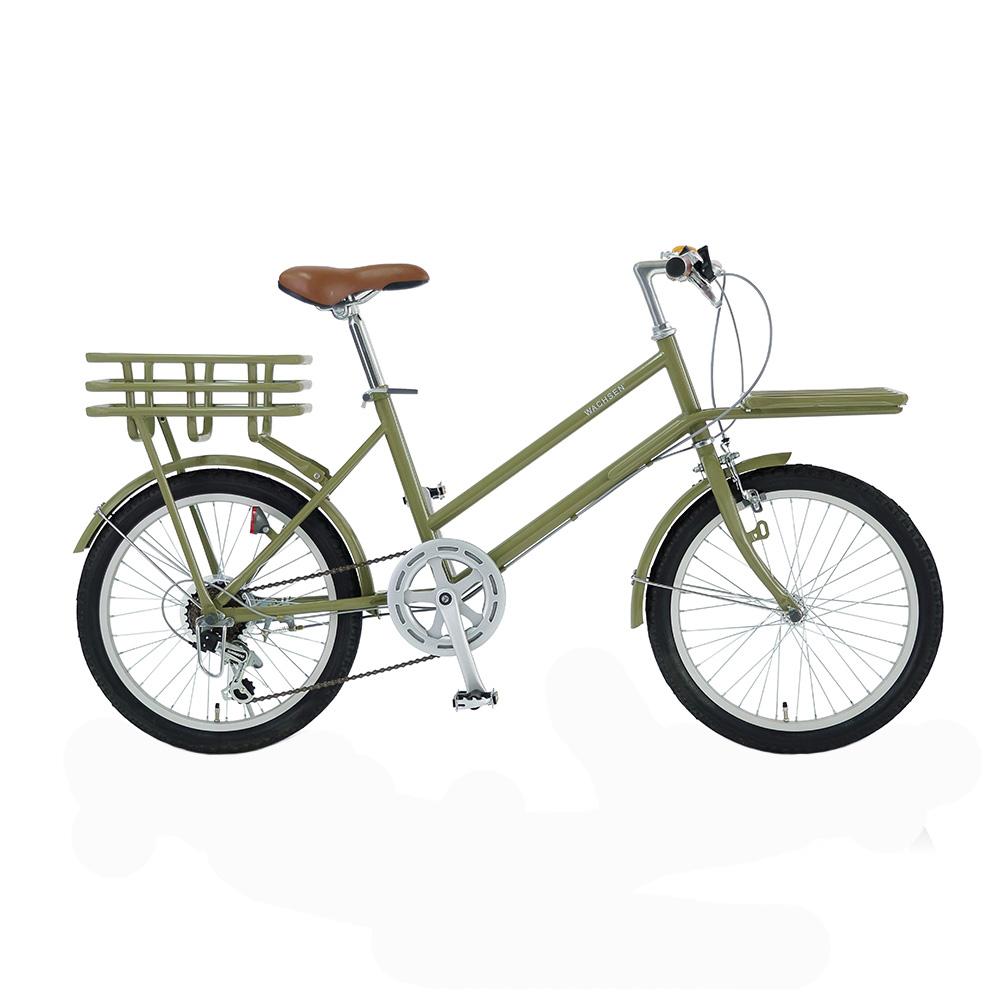WACHSEN 20インチカーゴバイク 6段変速 ROKE WBG−2002 グリーン