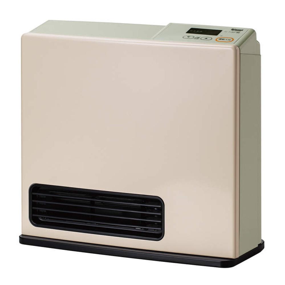 リンナイ(Rinnai) 【都市ガス用】ガファンヒーター(木造7畳/コンクリート9畳 パステルローズ)【暖房器具】Rinnai Simple(シンプル) RC-N202S