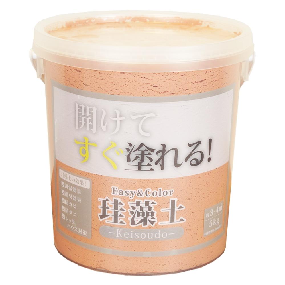 ワンウィル Easy&Color珪藻土 5kg テラコッタ 3793060008
