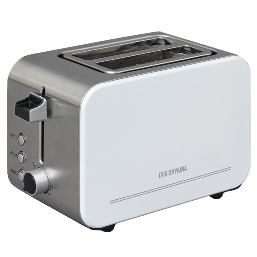 アイリスオーヤマ(IRIS OHYAMA) ポップアップ トースター トースト2枚 IPT-850-W