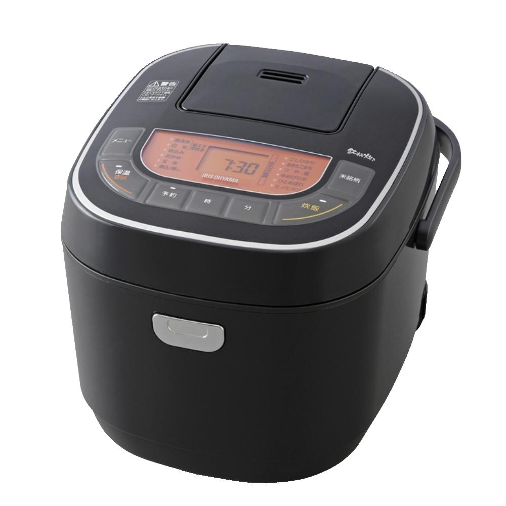 アイリスオーヤマ(IRIS OHYAMA) 米屋の旨み 銘柄炊き ジャー炊飯器 10合RC-MC10-Bブラック