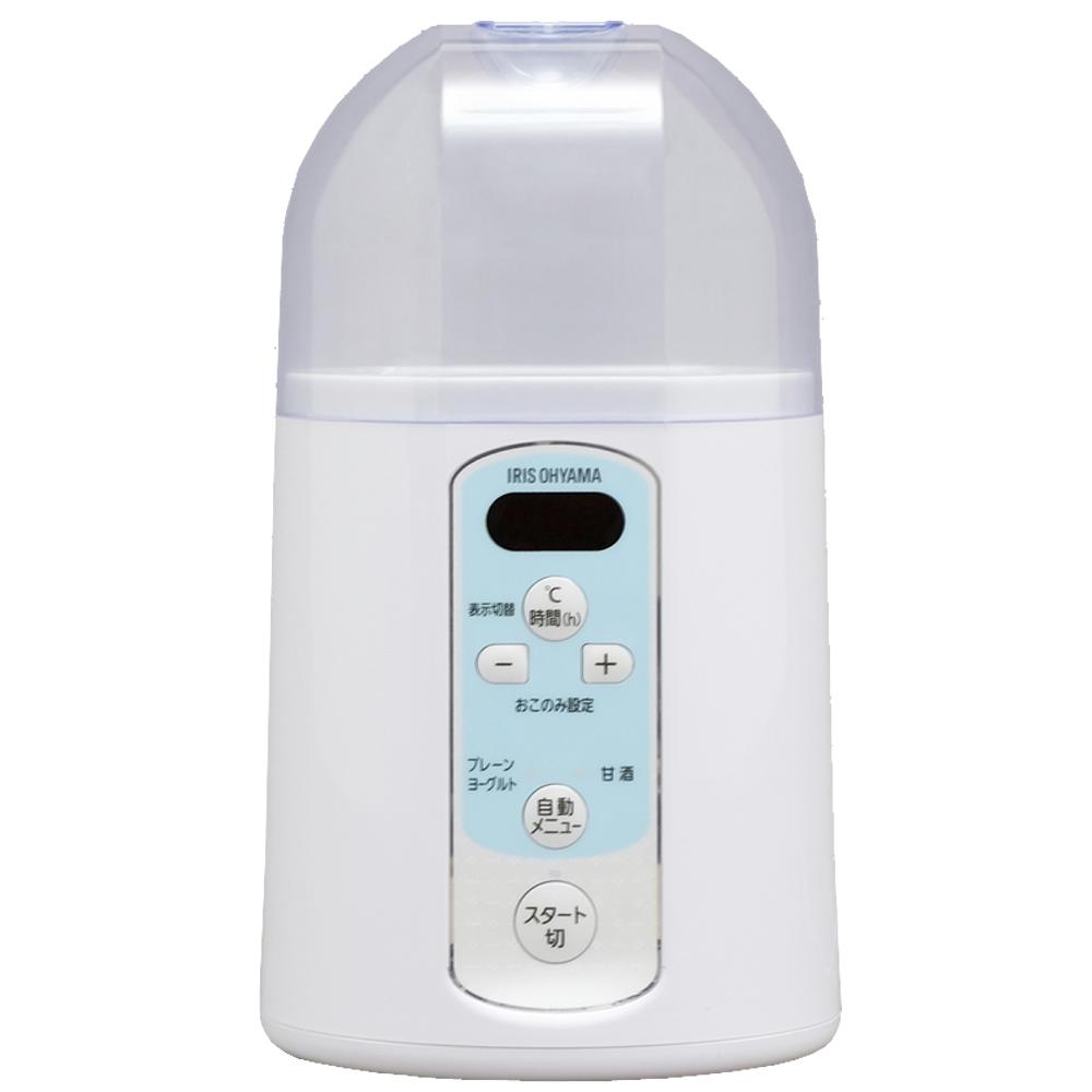 アイリスオーヤマ(IRIS OHYAMA) ヨーグルトメーカー 温度調節機能付き ホワイト IYM-014