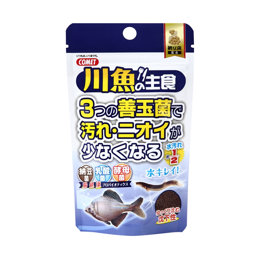 コメット 川魚の主食納豆菌 40g+10g