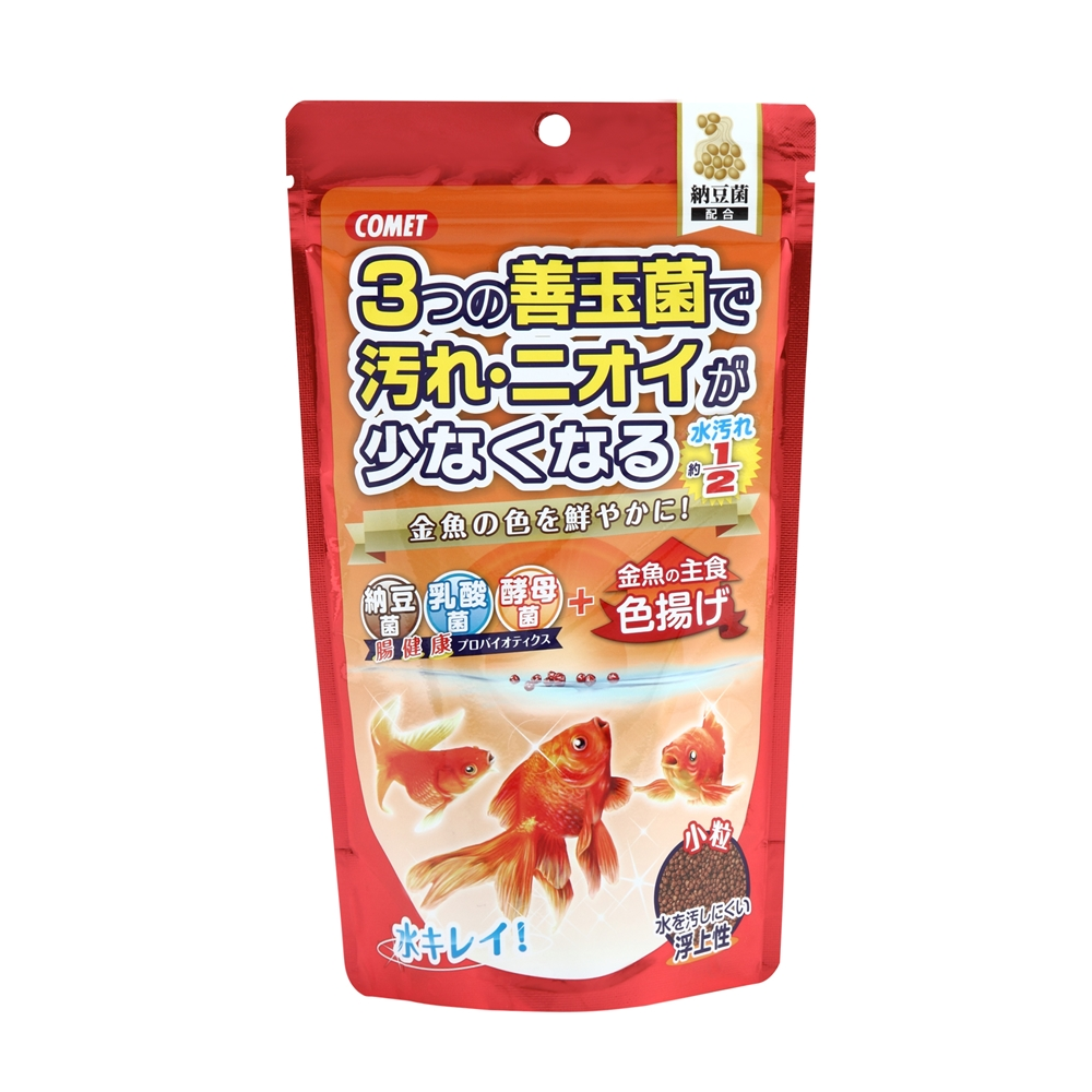 金魚の主食納豆菌色揚げ小粒 200g