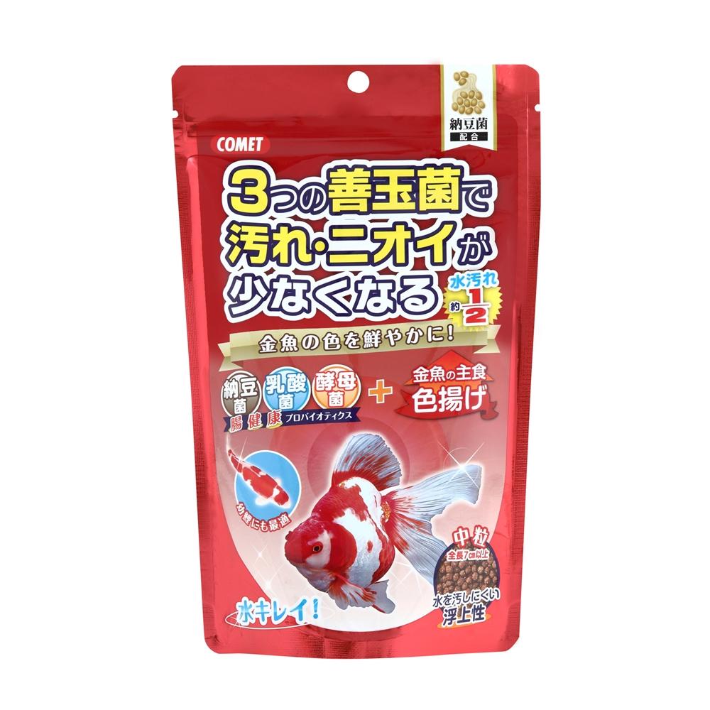 金魚の主食納豆菌色揚げ中粒 200g