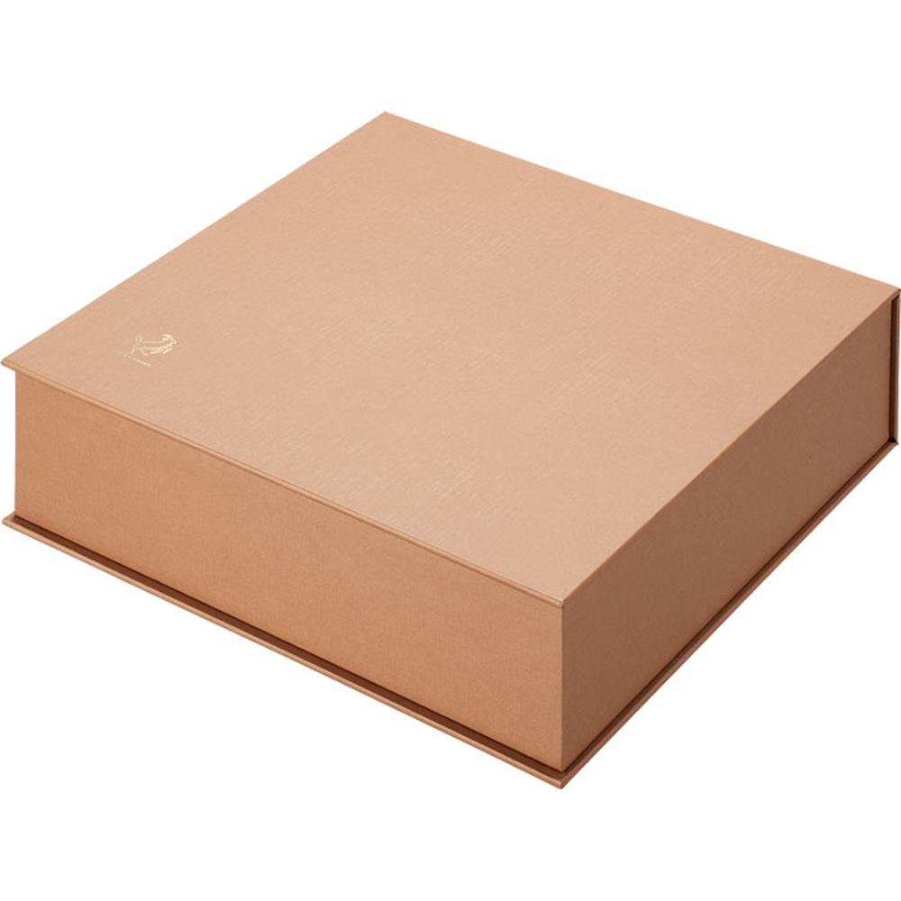 紙文箱 茶 2385−03