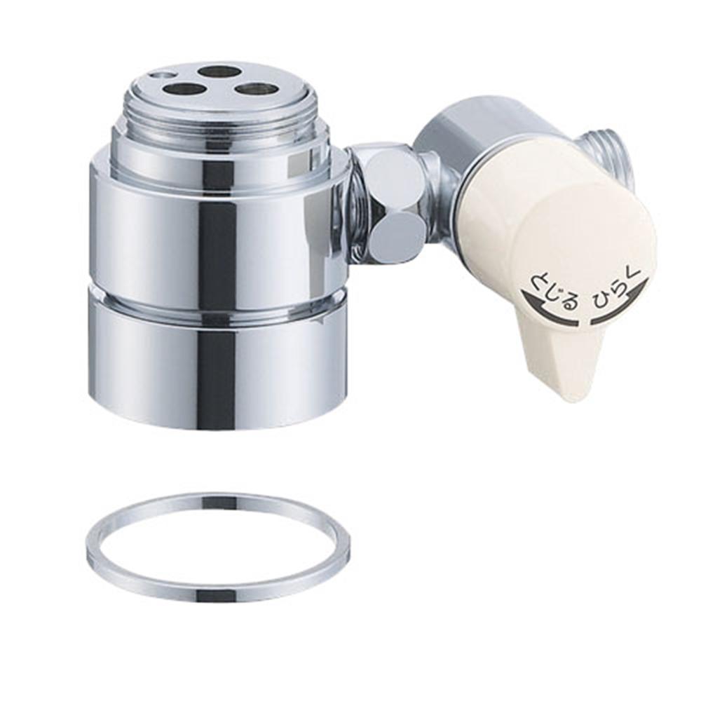 SANEI 水栓部品 シングル混合栓用分岐アダプター MYM用 B98−8A