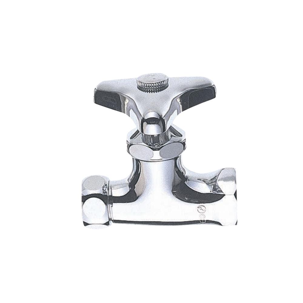 SANEI 【バルブ・止水栓】 化粧バルブ2型(ナット・アジャストパッキン付)