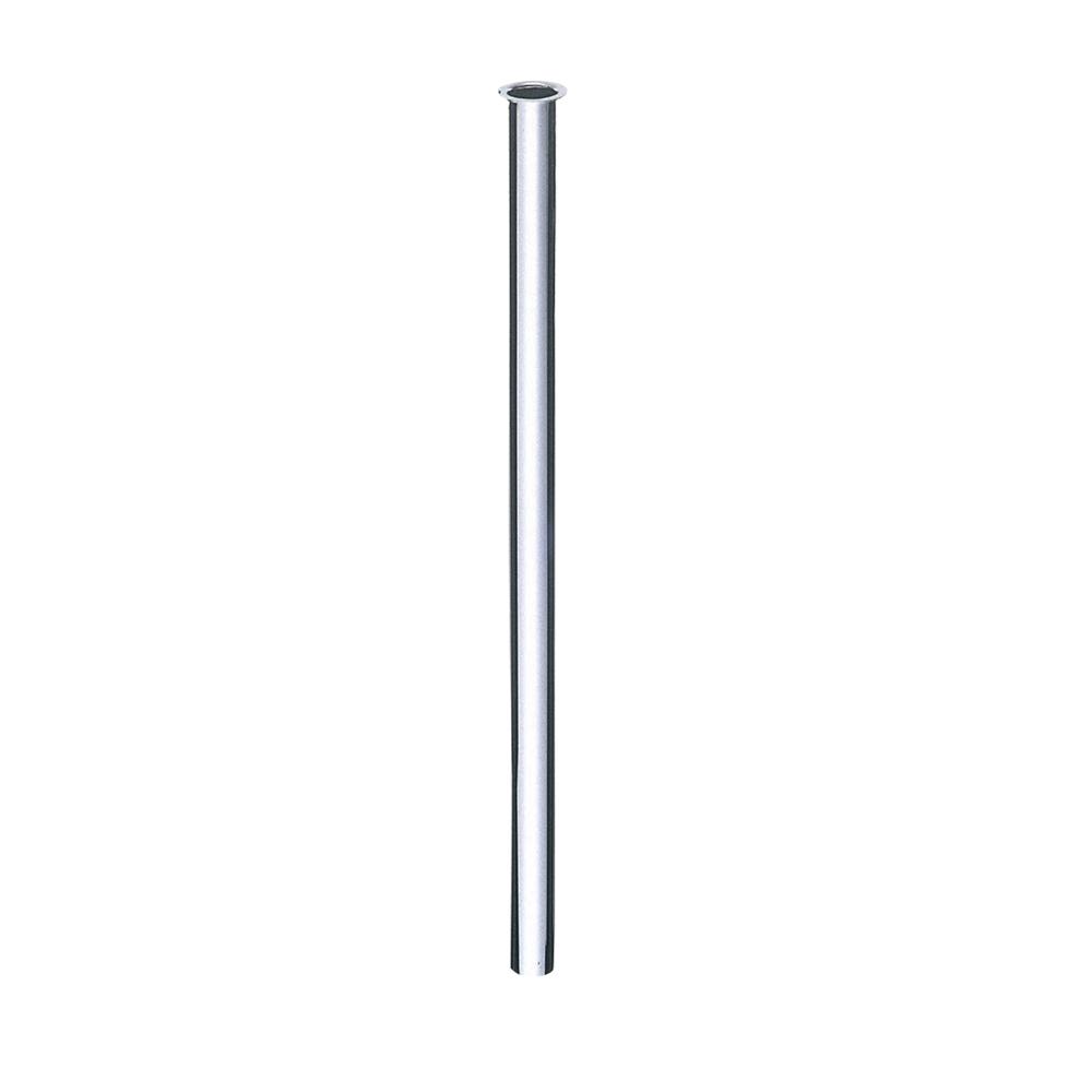 SANEI 【トイレ用 ツバ付小便直管】 長さ400mm V90J-64-400