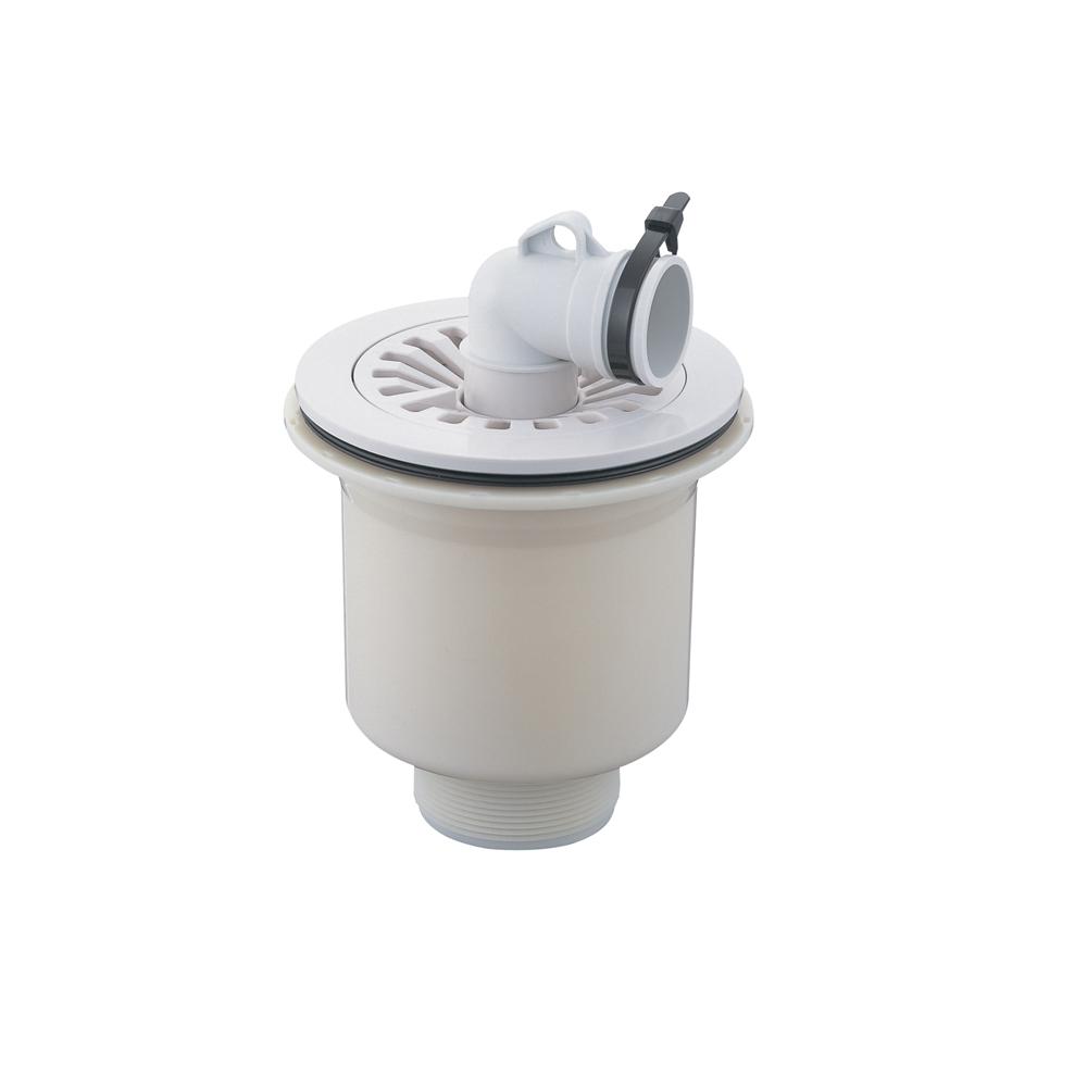 SANEI 洗濯ホース用 洗濯機排水トラップ VP・VUパイプ兼用 縦排水用