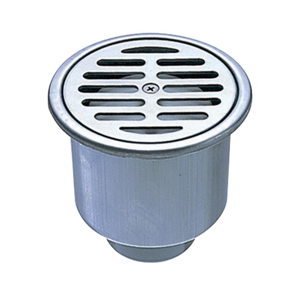 SANEI 排水口の悪臭を防ぐ ステンレスワントラップ VP・VUパイプ兼用 JH530−100X50