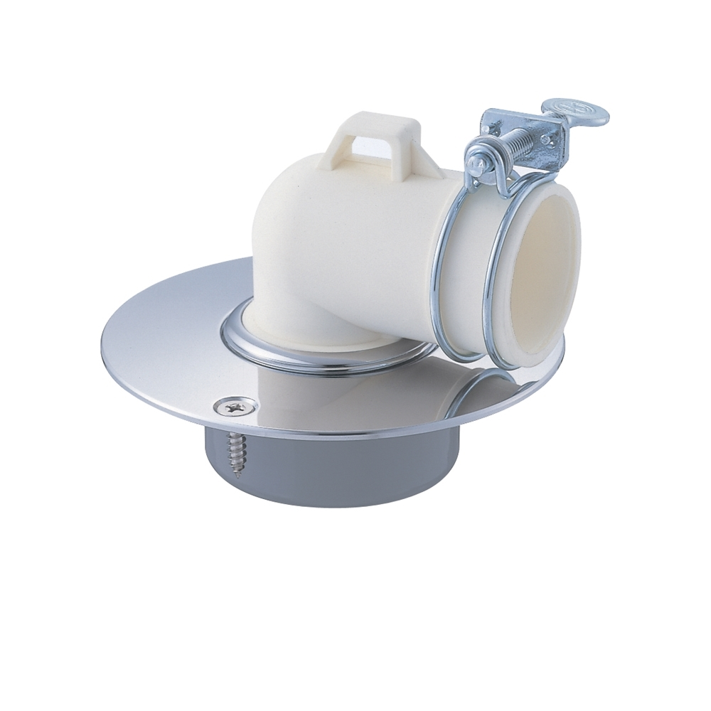 SANEI 洗濯機ホース用の排水口取り付けパーツ 洗濯機排水口 VP・VUパイプ兼用 JH552-50