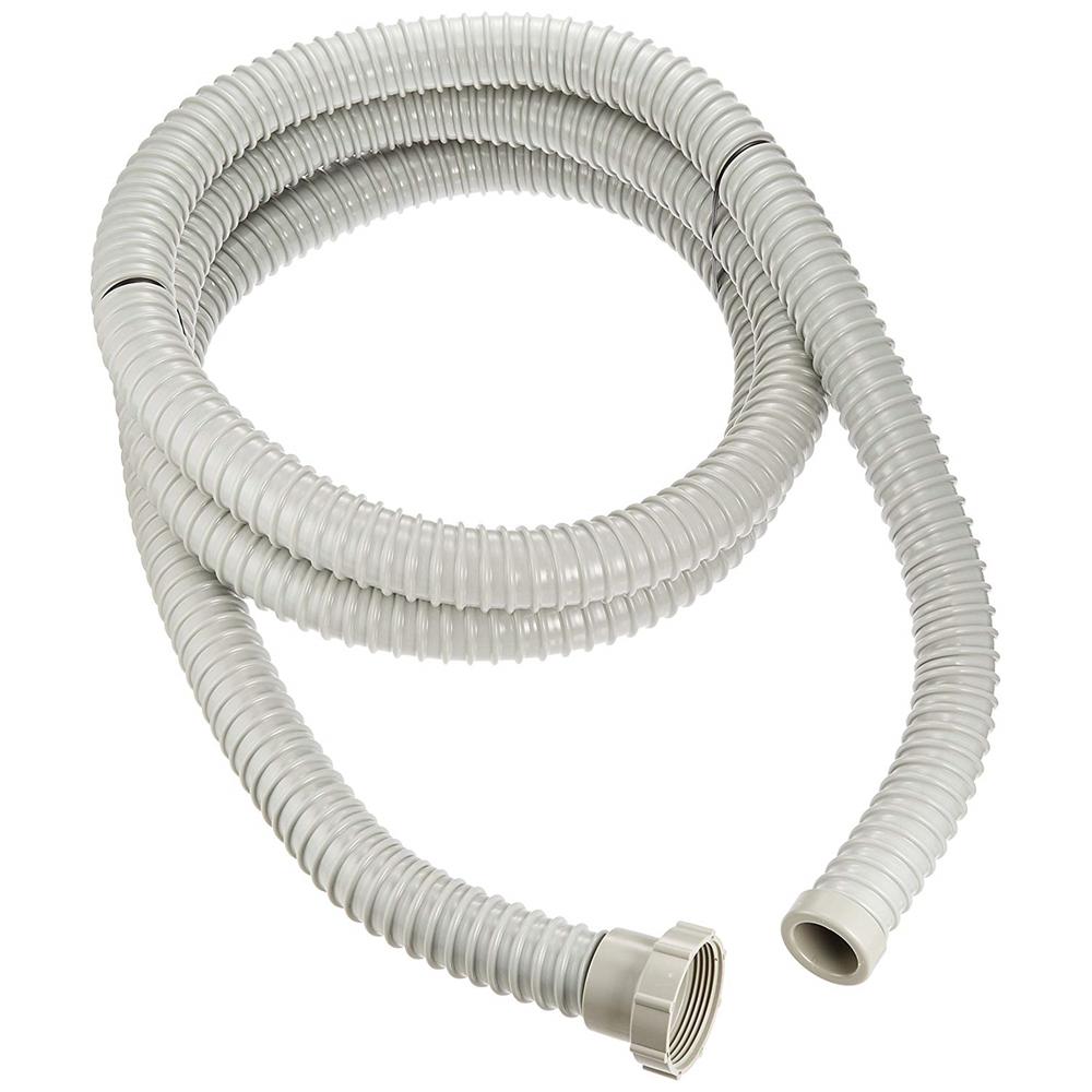 SANEI 【ネジ式接続タイプの流し排水栓ホース】 ネジ付 3m PH62-860-3