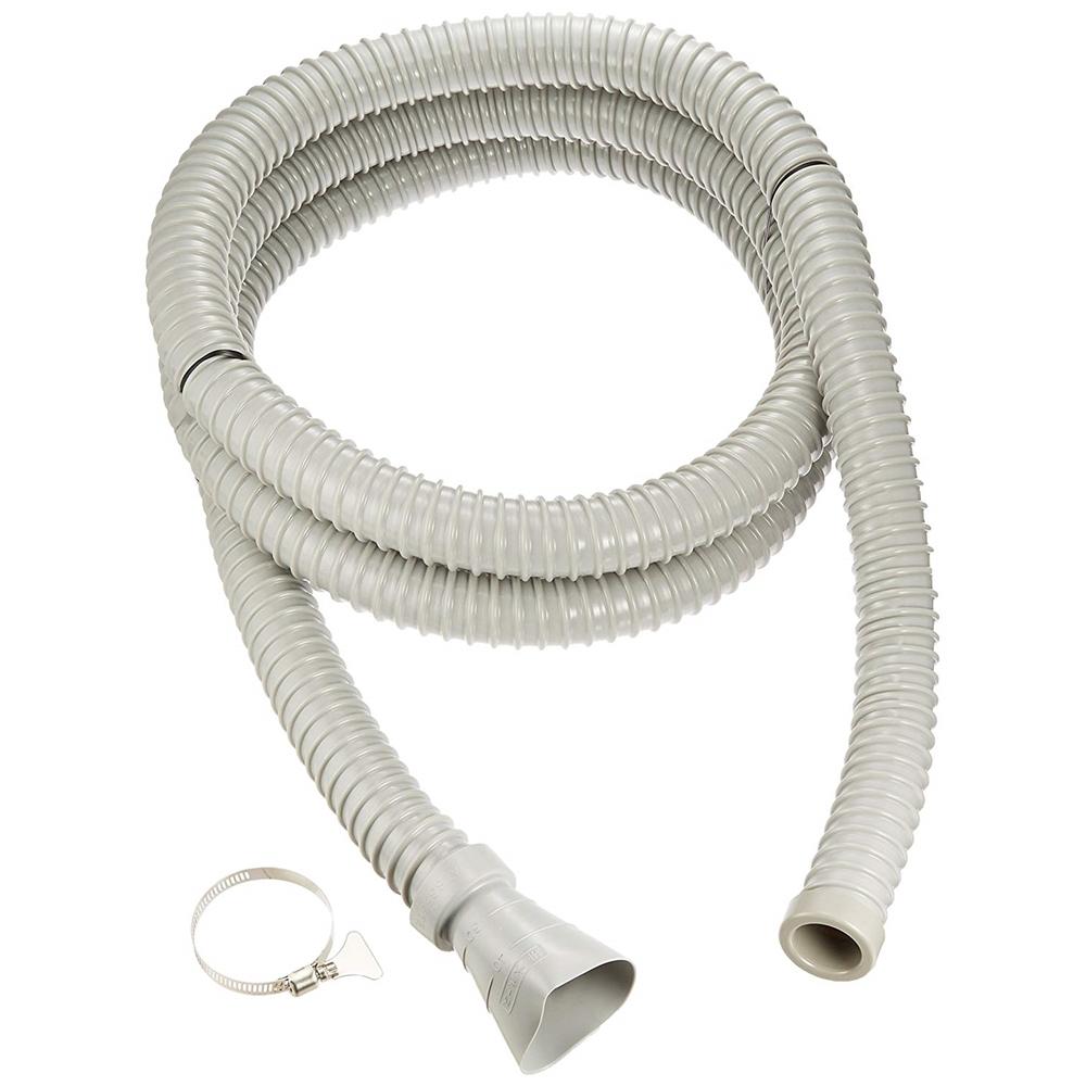 SANEI 【差込式接続タイプの流し排水栓ホース】 長さ3m PH62-861-3