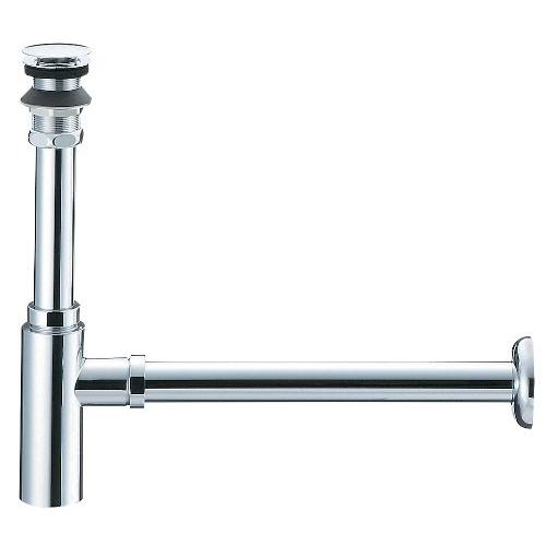 SANEI 【オーバーフローのない洗面器用トラップ】 アフレナシボトルトラップ H7610-25