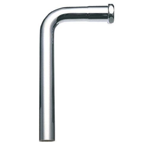 SANEI 【トイレ用 ロータンク洗浄管下部】 パイプ径32mm・全長340mm H80-1-32X140