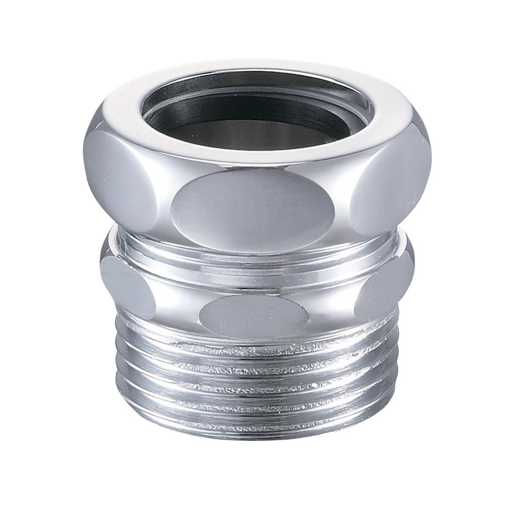 SANEI 【トイレ用 洗浄管アダプター】 パイプ径32mm用×オネジ径R1 H80-300-32X25