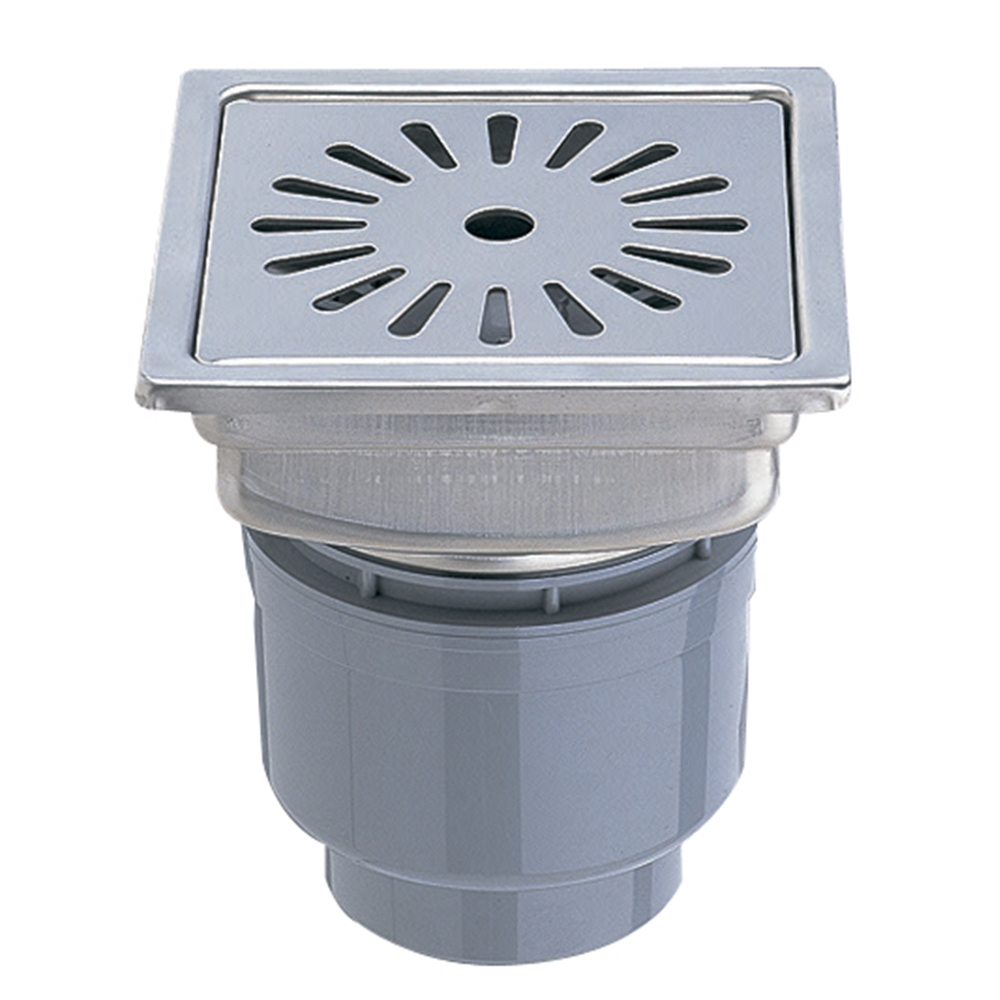 SANEI 【浴室用排水ユニット】 一辺198mm H902-200