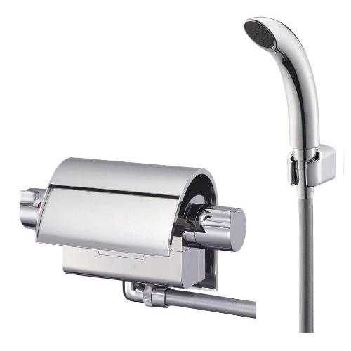 SANEI 【バス用混合栓 寒冷地仕様】 サーモシャワー混合栓 配管取付ピッチ90mm(+-2mm) SK2890K
