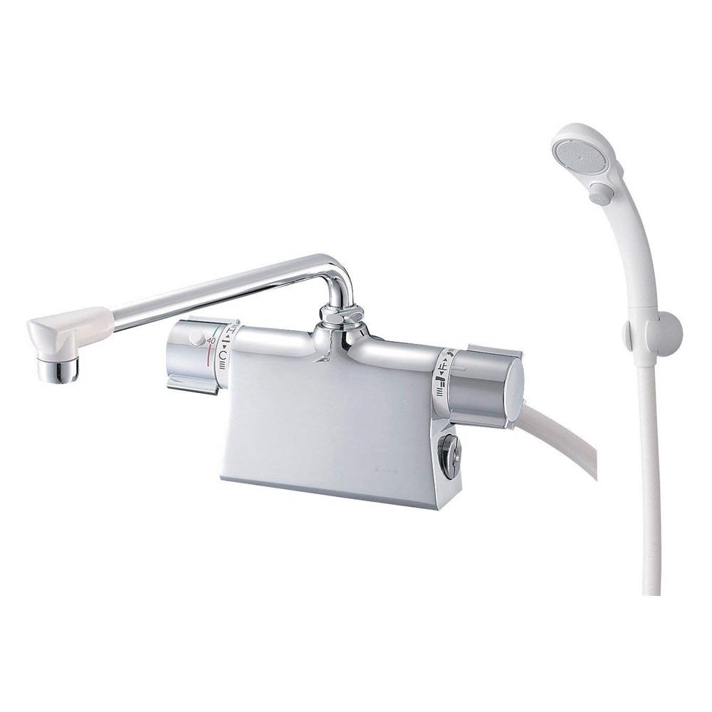 SANEI 【バス用混合栓】 サーモデッキシャワー混合栓 取付芯ピッチ120mm SK78501D-L