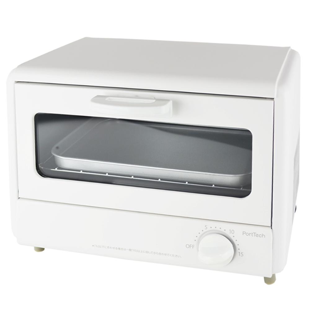 PortTech(ポートテック) オーブントースター2枚焼 PTA−860(MW)