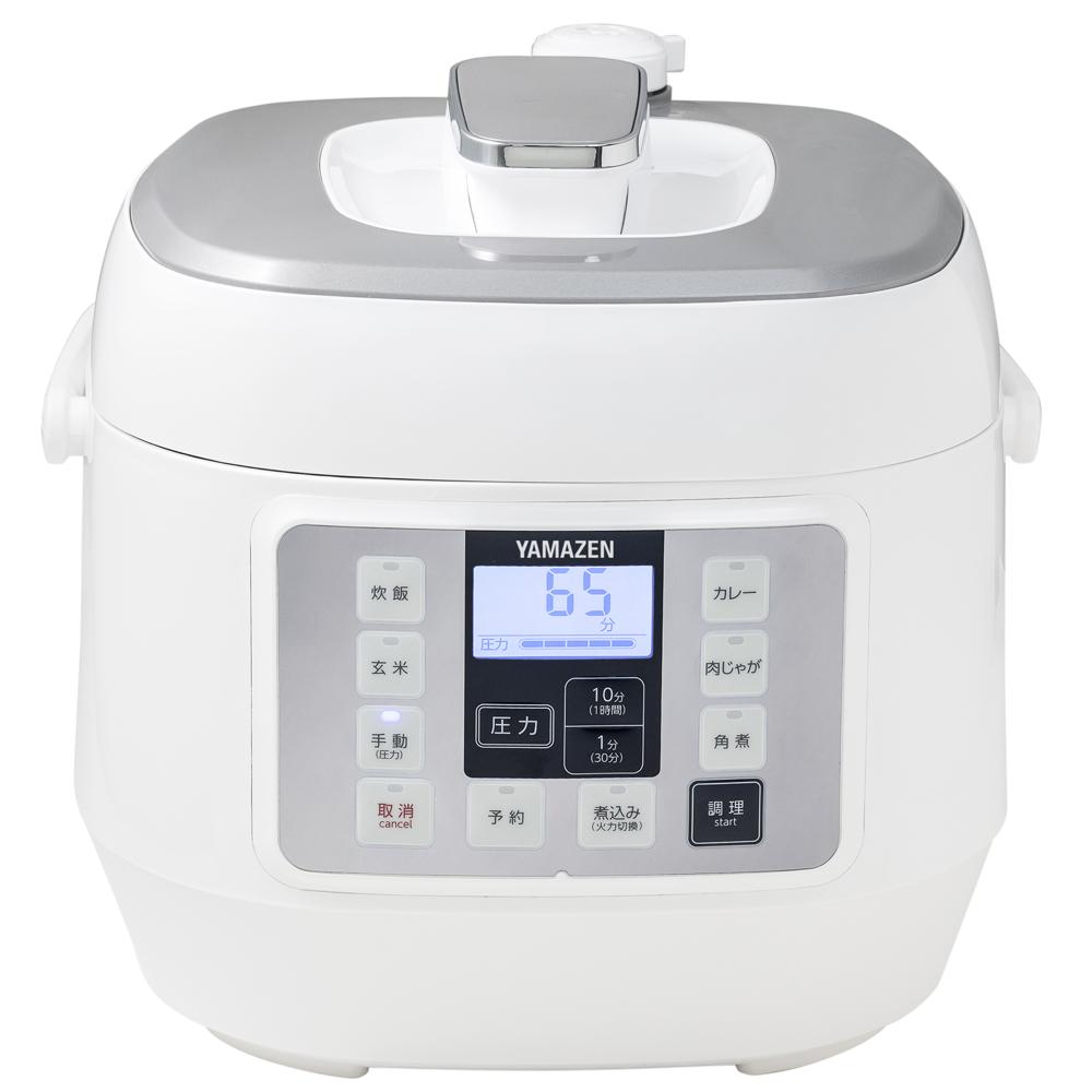 マイコン式電気圧力鍋 YPCA−M250(W)