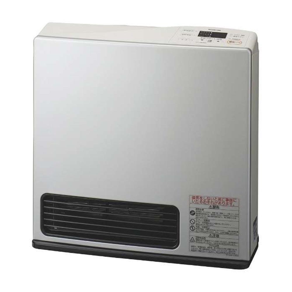 大阪ガス 【都市ガス用】ガスファンヒーター エコモデル ライトシルバー 1-140-9463