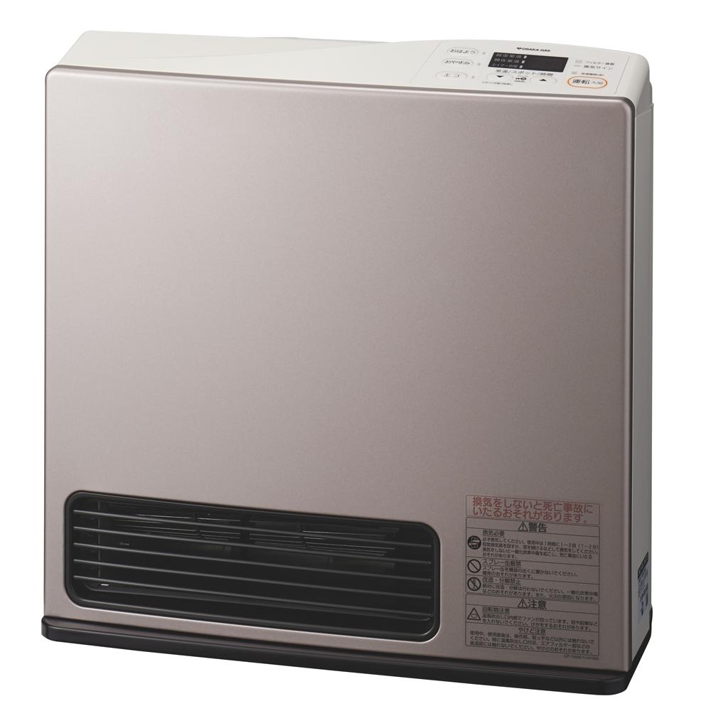 大阪ガス 【プロパンガス用】ガスファンヒーター エコモデル ウォームシルバー 9-140-9473
