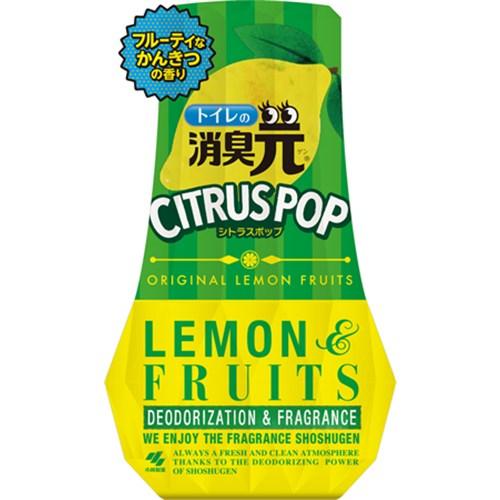 トイレの消臭元 レモンフルーツ 400ml