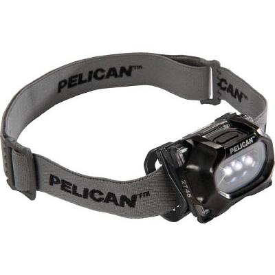PELICAN 2745 ヘッドアップライト 黒 0274500100110