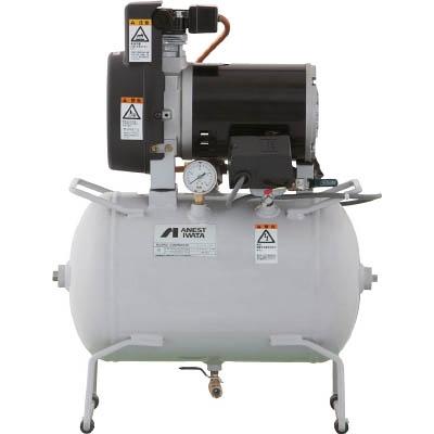 アネスト岩田 レシプロコンプレッサ(タンクマウント・オイルフリータイプ) TFP02C-10C