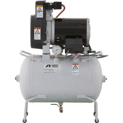 アネスト岩田 レシプロコンプレッサ(タンクマウント・オイルフリータイプ) TFP02C-10M