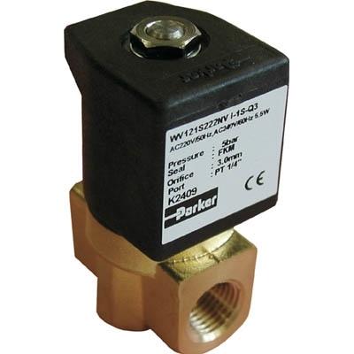 クロダ 流体制御用直動形2ポートバルブ WV121S222NV-I-1S-8P