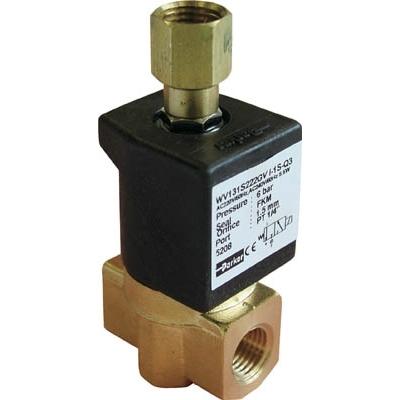 クロダ 流体制御用直動形3ポートバルブ WV131S222GV-I-1S-C2-11W