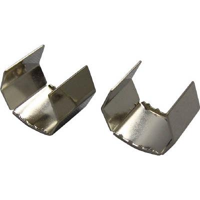 ユタカ 金具 端末爪 15mm×15mm金具 2個入り KM-09