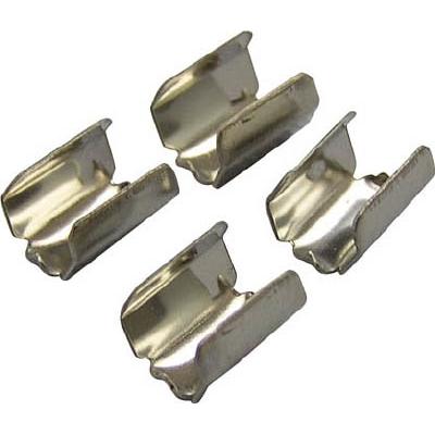 ユタカ 金具 端末爪 4mm×8mm 4個入り KM-12