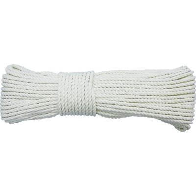 ユタカ ロープ 綿ロープ3ツ打 4φ×10m A-59
