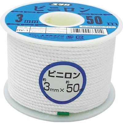 ユタカ ロープ ビニロンロープボビン巻 5φ×30m RV-3
