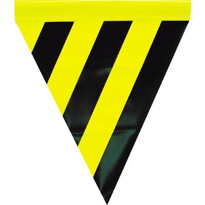 ユタカ 安全表示旗(筒状・トラ模様) AF-1114