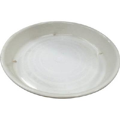 IRIS 鉢受皿中深型 ホワイト 14号 HUMD14W
