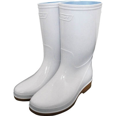 日進 耐滑衛生長靴 25.0cm V4000ZW25.0