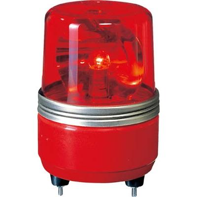 パトライト SKH−EA型 小型回転灯 Φ100 赤 SKH-24EA(SKH-24E)R(レッド DC24V)